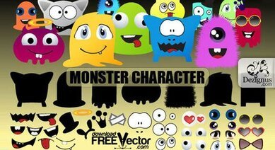 Vector monster kit
