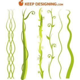 JUNGLE PLANT VECTOR IMAGE PACK.eps