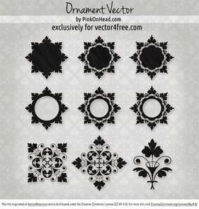 Ornament Vector by PinkOnHead