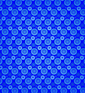 Neon Circles Vector Seamless Pattern