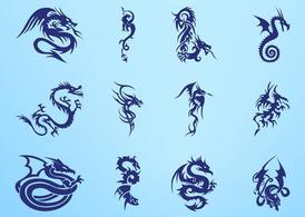 Dragon Tattoos Graphics