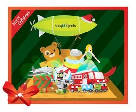 Free Vector Christmas Classic Toys