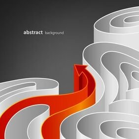 Abstract Curved Background