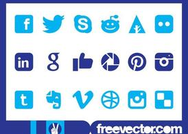 Social Media Icons Grafiken