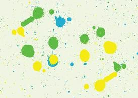 Paint Splashes Footage