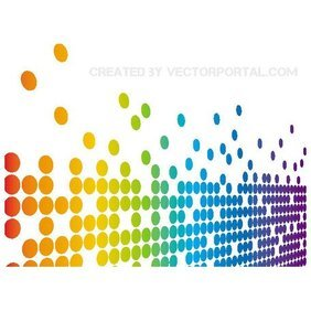 ABSTRACT DOTS VECTOR BACKGROUND.eps