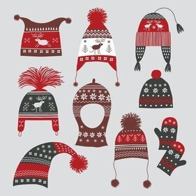 Winter Hats Gloves 02