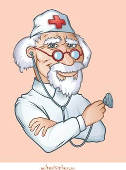 Medical person vector 4