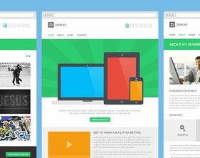 Display PSD Theme