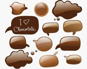 Illustrations de stock Icons-Vector chocolat