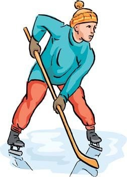 Hockey sport vector 1