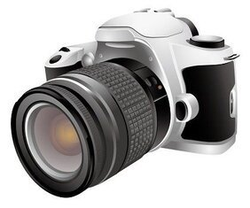 Free Vector Digital Camera(DSL)