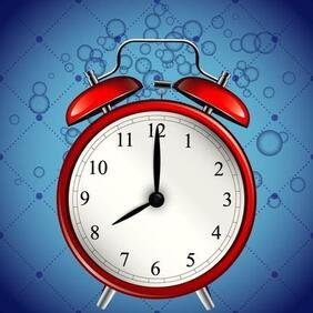 ALARM CLOCK VECTOR GRAPHICS.eps