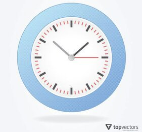 Simple Analog Vector Clock Free