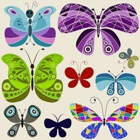 Stock Illustrations Buterfly