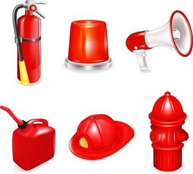 Firefighters And Fire Equipment 02