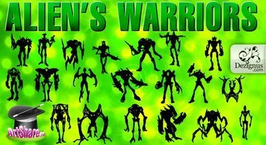 Alien's Warriors & Monsters