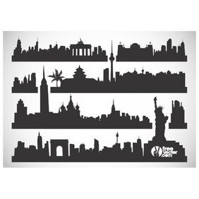 CITYSCAPES VECTOR SILHOUETTES.ai