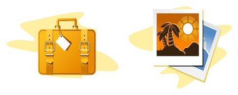 travel theme icon