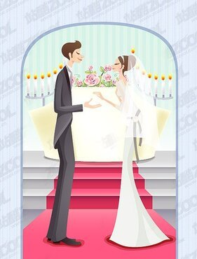 Vector Sweet marriage material