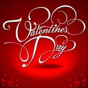Red background valentine day