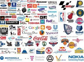 World-famous brand logo