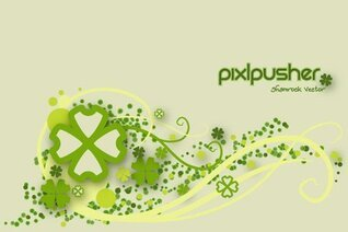 Free Vector Shamrock Background