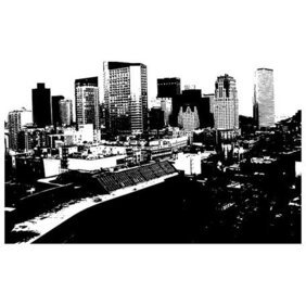 CITY SKYLINE VECTOR GRAPHICS.eps