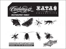Free Insect Vectors