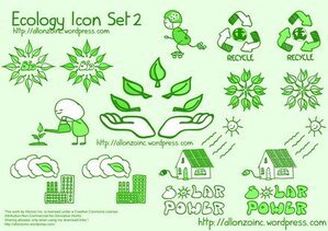 Ekologi Icon Set 2