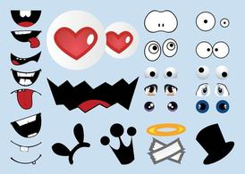 Cartoon Character Elements