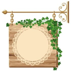 Exquisite wooden tag 01