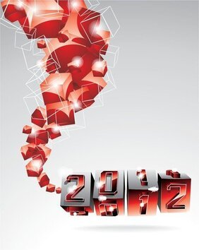 2012 Fonts Graphic