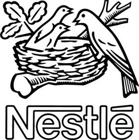 Nestle bird logo