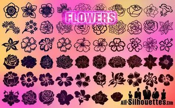 57 download Vektor Blumen