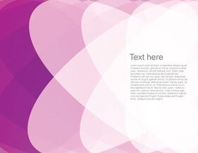Pink Gradient Abstract Vector Graphics Background