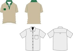 T-Shirt werk uniformen
