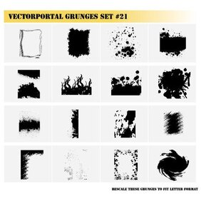 GRUNGE IMAGES VECTOR SET.eps