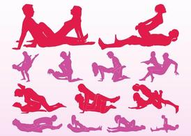 Sexe Position Silhouettes