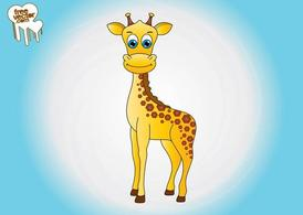 Cartoon Giraffe Graphics