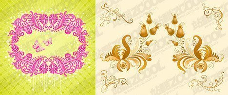 2, classical style pattern
