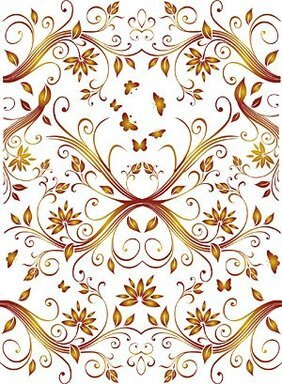 Background of ornate pattern