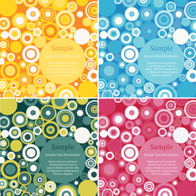 Free Retro Circles Design