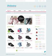 Mihstore - Free psd layout
