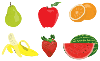 Free Fruit Vector Pack Illustrator