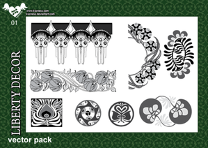 Free Decor Vector Pack