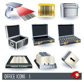 Business office-pictogram