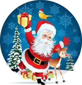 The Lovely Santa Illustrator 01