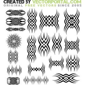 TATTOO CLIP ART GRAPHICS.eps