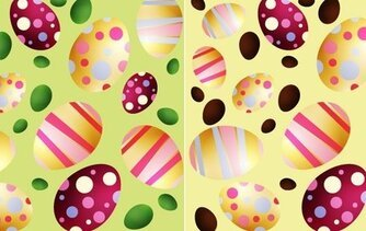 Easter Eggs Vector Egg Colorful